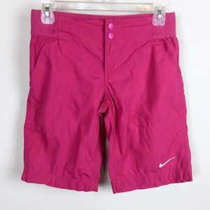 Nike pink golf shorts L